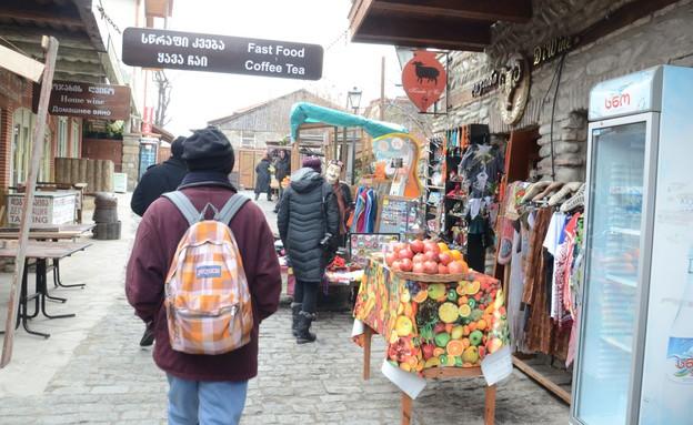 השוק במצחתה (צילום: אורן סטלקול)