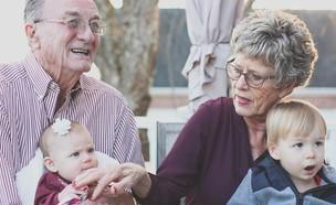 סבא סבתא נכדים (צילום: pixabay)