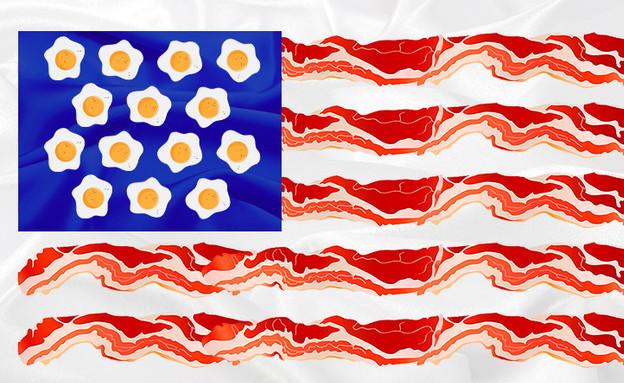 דגל ג'אנק פוד (עיצוב: סטודיו מאקו)