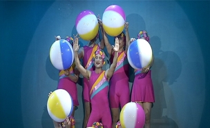 הצגה חדשה מציגה אנטי אייג'ינג על הבמה. צפו (צילום: מתוך ההצגה אקווריום, תיאטרון חיפה)