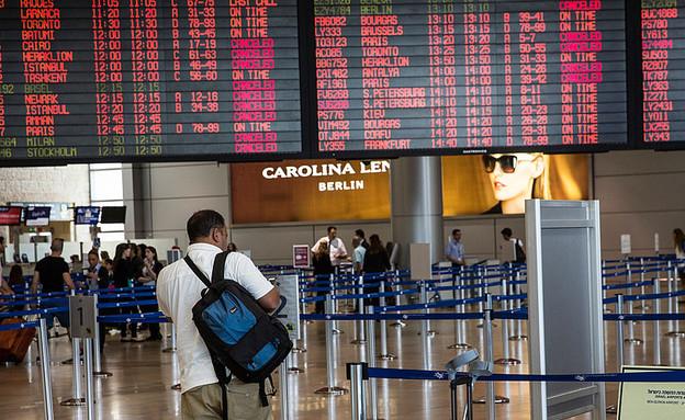 לוח טיסות נמל תעופה בן גוריון