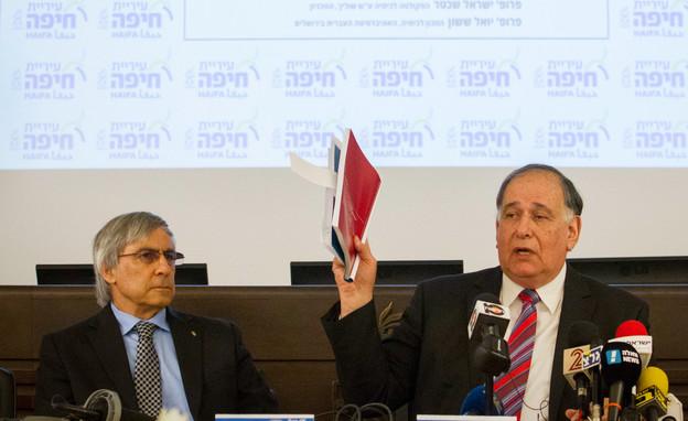 יונה יהב (מימין) ופרופ' אהוד קינן (צילום: פלאש 90)