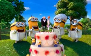 חתונה מיניונים (צילום: יוטיוב , מעריב לנוער)
