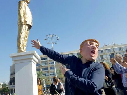 הפסל עורר דיון סוער