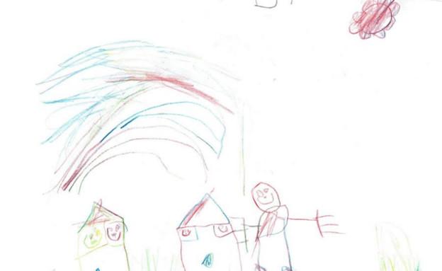 ילד מצייר (צילום: צילום ביתי, ShutterStock)