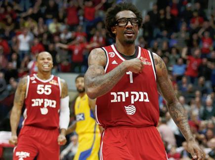 משחק העונה של הכדורסל הישראלי (אלן שיבר) (צילום: ספורט 5)