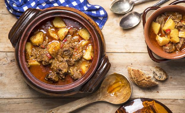 גולאש (צילום: אפיק גבאי, אוכל טוב)