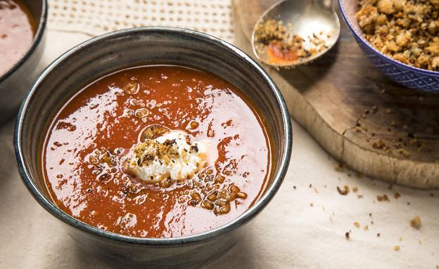מרק עגבניות (צילום: אפיק גבאי, אוכל טוב)