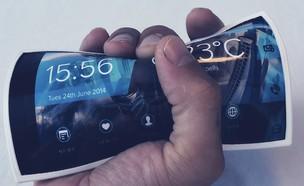 טלפון גמיש (צילום: יוטיוב , מעריב לנוער)