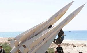 טיל נגד מטוסים אירני. (ארכיון) (צילום: רויטרס)
