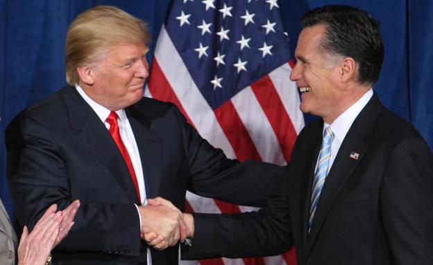 ישתפו פעולה? טראמפ ורומני (צילום: רויטרס)