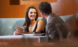 גבר ואישה בדייט (צילום: אימג'בנק / Thinkstock)