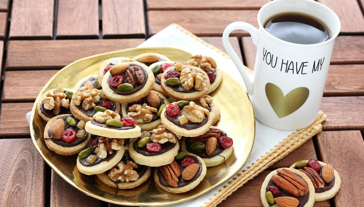 עוגיות מנדיאנט (צילום: ענבל לביא, אוכל טוב)