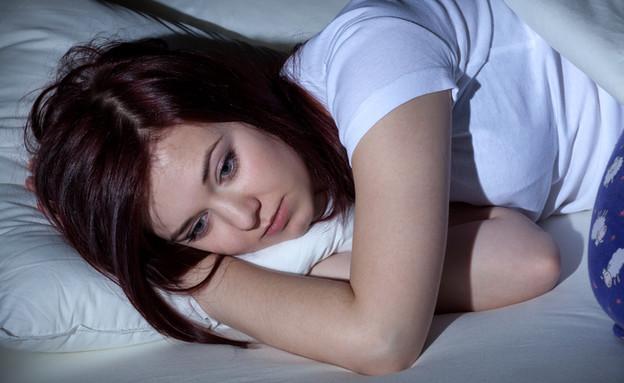 לא נרדמת (צילום: Shutterstock)
