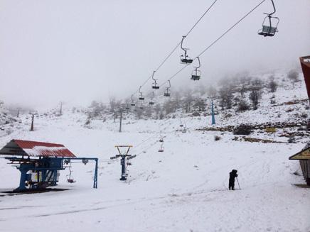בשבוע הבא שלג? החרמון (צילום: גיא ורון)