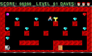 המשחק Dangerous Dave