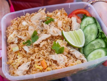 קאו פאד, דוכן תאילנדי, שוק הכרמל