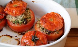 עגבניות ממולאות קינואה (צילום: נטע-חן ליבנה, אוכל טוב)