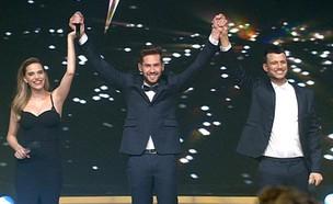"""ביצוע הגמר של אימרי זיו – """"Halo"""" (צילום: מתוך הכוכב הבא לאירוויזיון, שידורי קשת)"""