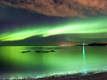 הזוהר הצפוני (צילום: ניוז קום)