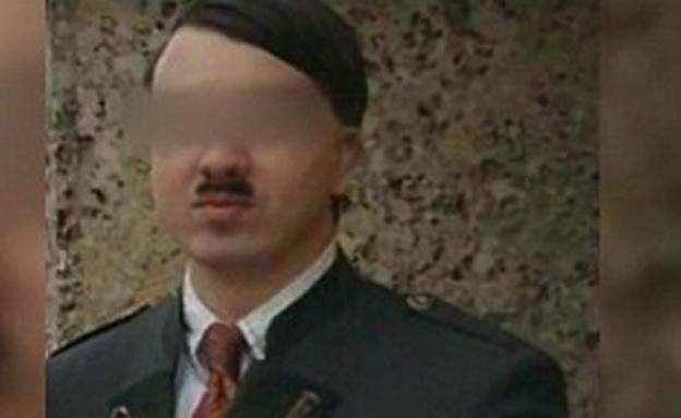 """""""הראלד היטלר"""", הכפיל של (צילום: Servus TV / Daily Mail)"""