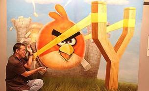 אנגרי בירדס בתלת מימד (צילום: thechive.com)