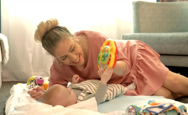זמן איכות עם התינוק (צילום: אור גץ)