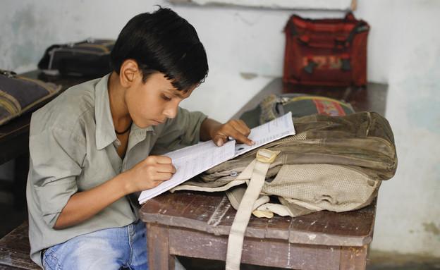 ילדים בהודו (צילום: Shutterstock, מעריב לנוער)