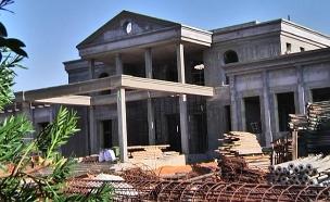 אחוזתו של לבייב בסביון (צילום: חדשות 2)