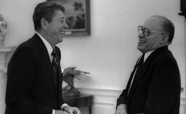 "בן גוריון עם הנשיא טרומן (צילום: צילום: יעקב סער, לע""מ)"