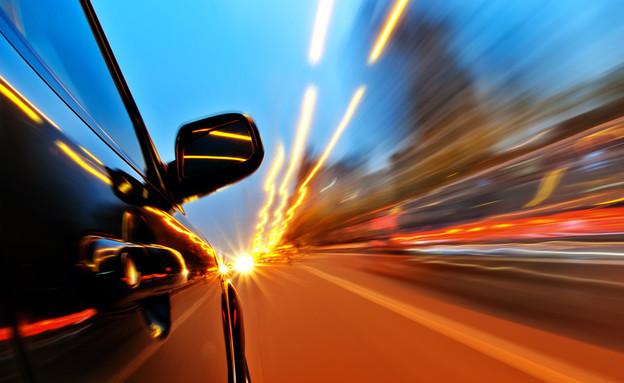 מהירות מופרזת אילוסטרציה (צילום: Shutterstock)
