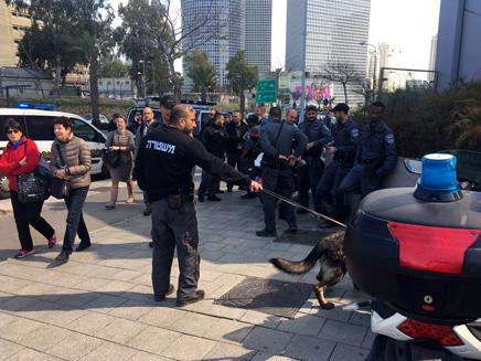 ההיערכות המשטרתית להפגנות