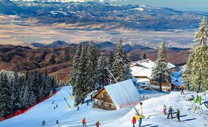 אתר הסקי פויאנה בראשוב (צילום: Gaspar Janos, Shutterstock)