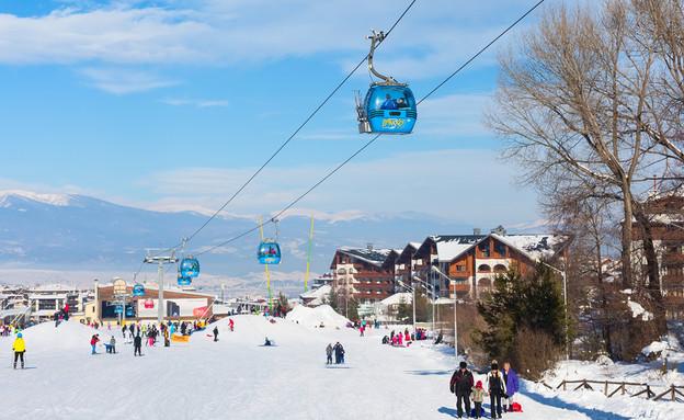 אתר הסקי בנסקו (צילום: Nataliya Nazarova, Shutterstock)