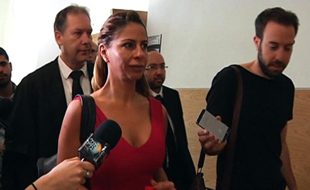 ענבל אור בבית המשפט (צילום: חדשות 2)