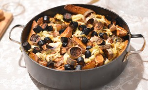 קציצות, חצילים ותפוחי אדמה (צילום: חן ואלון קורן, אוכל טוב)