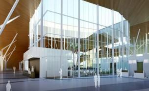 נמל התעופה רמון (צילום: תכנון משה צור, אמיר מן, אורנה צור, עמי שנער אדריכלים)