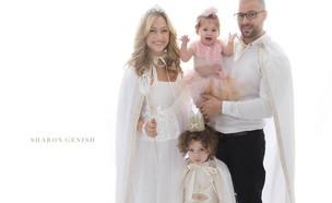 המשפחה של ליהיא גרינר (צילום: שרון גניש)