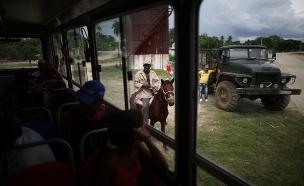 שיפור במצב פצועי תאונת האוטובוס בקובה (צילום: רויטרס)