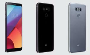 סמארטפון G6 של LG (צילום:  יחסי ציבור )