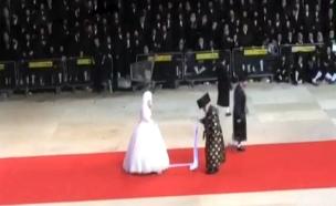 חתונה חרדית (צילום: חדשות 2)