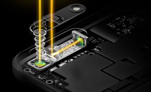 תרשים מנגנון הצילום הפריסקופי של Oppo 5x (צילום:  יחסי ציבור )