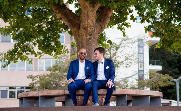 החתונה של רז  ויותם  (צילום: נופר תגר,  יחסי ציבור )