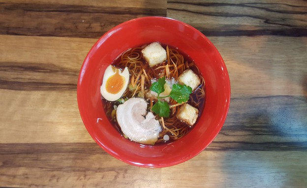 ראמן, מן טן טן (צילום: באדיבות מסעדת מן טן טן,  יחסי ציבור )