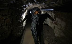 """מנהרות חמאס """"דורגו כאיום נמוך"""" (צילום: רויטרס)"""