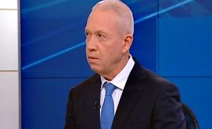 שר השיכון יואב גלנט (צילום: חדשות 2)