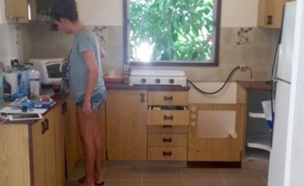לפני (צילום: צילום ביתי)
