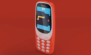 סנייק צבעוני על נוקיה 3310 החדש (צילום:  יחסי ציבור )