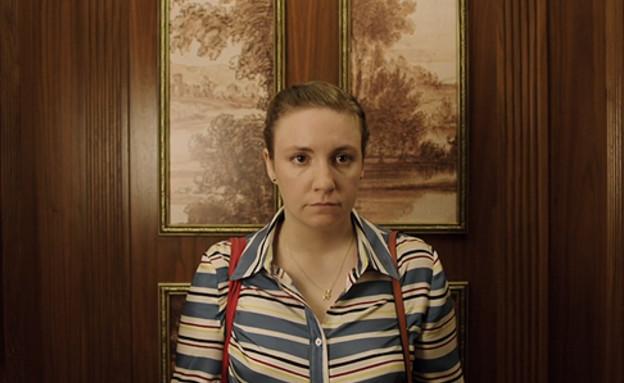 """לינה דנהאם ב""""בנות"""" עונה 6 פרק 3 (צילום: צילום מסך)"""