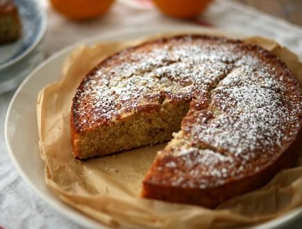 עוגת תפוז, יוגורט וקינמון
